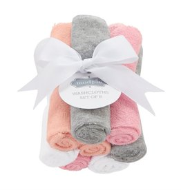 Mud Pie Washcloth Set/ Girl