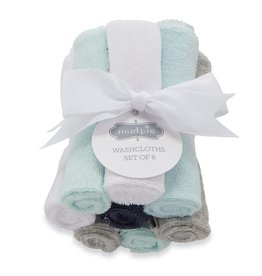 Mud Pie Washcloth Set/ Boy