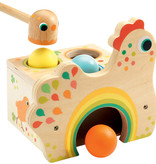 Djeco Wooden Toy/ Tapatou Chicken