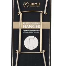 Tripar  International, Inc. Wire Plate Hanger/ Brass 10-14""