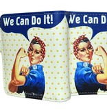 Shagwear Wallet/ Small, Rosie We Can Do It!