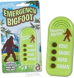 Accoutrements Emergency Bigfoot Sounds