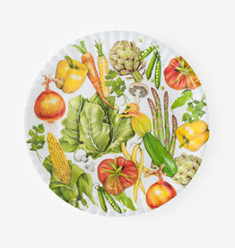 "One Hundred 80 Degrees Melamine Platter 16""/ Veggie"