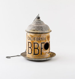 One Hundred 80 Degrees Birdhouse/ Metal California
