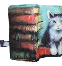 Shagwear Wallet/ Large, Cat Tales