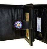 Shagwear Wallet/ Small, Love Floral Black