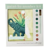 Elle Cree Paint by Number / Elephant in Ceramic Planter