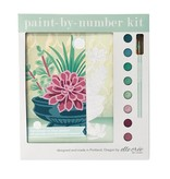 Elle Cree Paint by Number / Succulents in Blue Planter