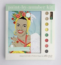 Elle Cree Paint by Number / Carmen Miranda