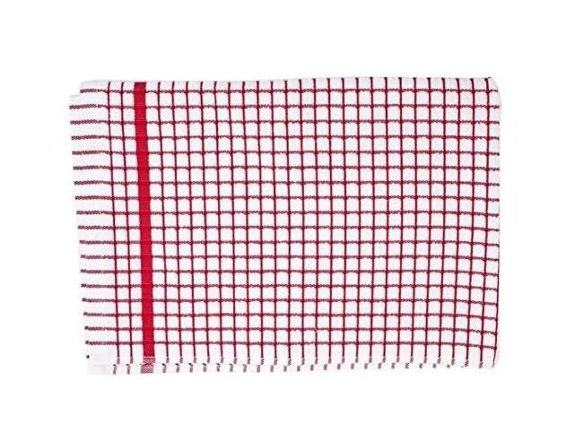 Samuel Lamont and Sons / Dubgifco Poli Dry Dish Towel/ Red Check