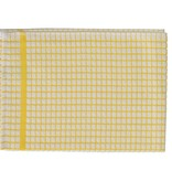Samuel Lamont and Sons / Dubgifco Poli Dry Dish Towel/ Gold Check