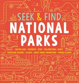 Gibbs Smith Book/ Seek and Find National Parks