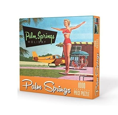 Gibbs Smith Puzzle / Palm Springs Holiday 1000pc
