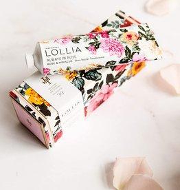 Margot Elena / Burwell Lollia Shea Butter Handcreme 4 oz./ Always in Rose