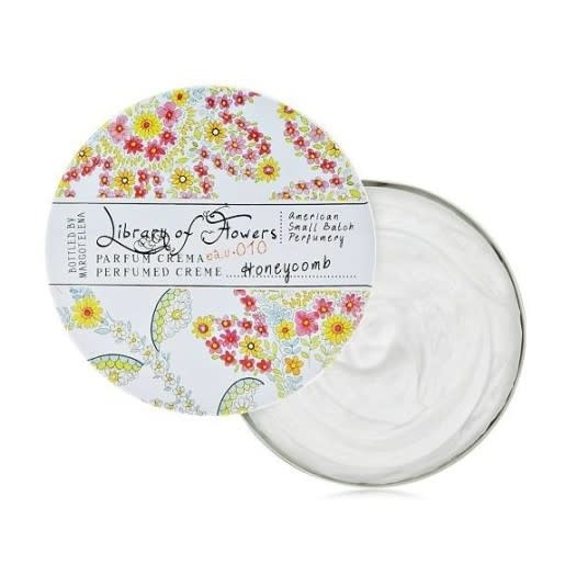 Margot Elena / Burwell Library of Flowers Perfume Creme / Honeycomb