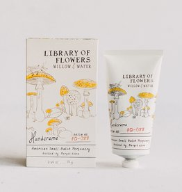 Burwell Industries Library of Flowers Handcreme / Willow & Water