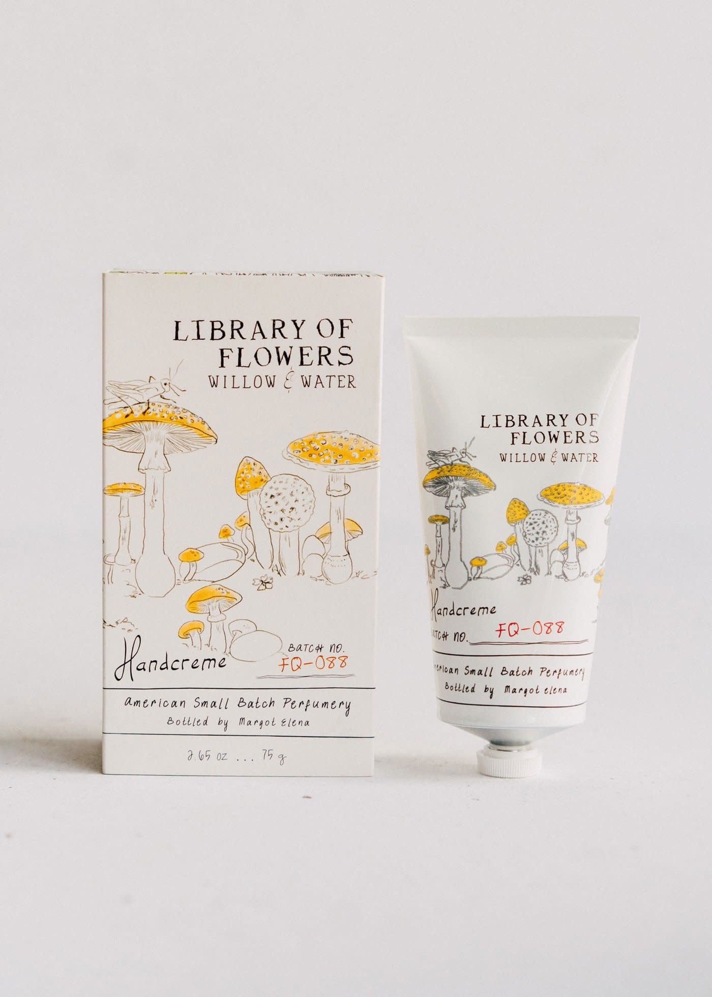 Margot Elena / Burwell Library of Flowers Handcreme / Willow & Water