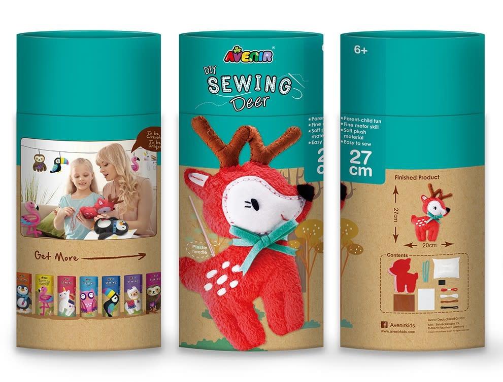 Dam LLC. Sewing My First Doll/ Deer