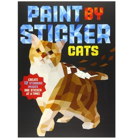 Workman Publishing Co Book/ Paint by Sticker Cats