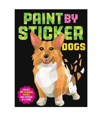 Workman Publishing Co Book/ Paint By Sticker Dogs