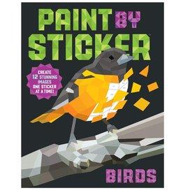 Workman Publishing Co Book/ Paint by Sticker Birds