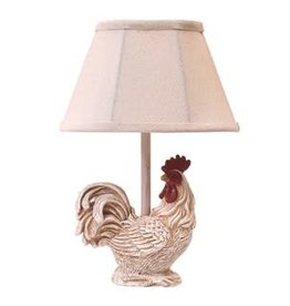 AHS Lighting Lamp/ Chante Claire White Chicken