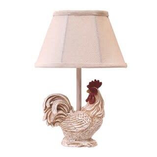 AHS Lighting Lamp/ Chante Claire White Chicken