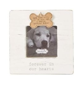 Mud Pie Frame/ Forever in Our Hearts Pet Tag