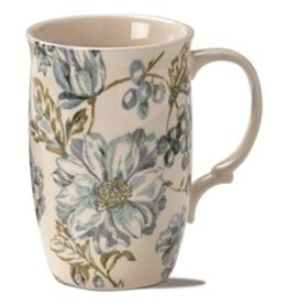 Tag Mug/ Greenhouse Floral Tall