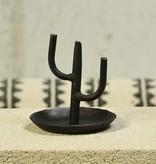 HomArt Cactus Ring Holder Black Iron