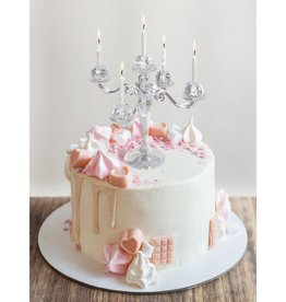 Fred and Friends/ Lifetime Brands Cake Candelabra/ Clear Acrylic