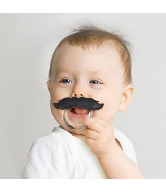 Fred and Friends/ Lifetime Brands Teether/ Chill Baby Stache
