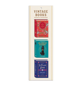 Hachette Book Group Magnetic Bookmark Set/ Vintage Books