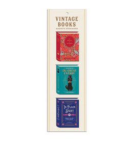 Hachette Book Group Magnetic Bookmark Set/ Vintage Books