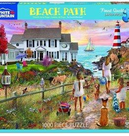 White Mountain Puzzles Puzzle/ Beach Path 1000 pc