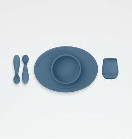 EZPZ ezpz First Foods Set/ Indigo Blue