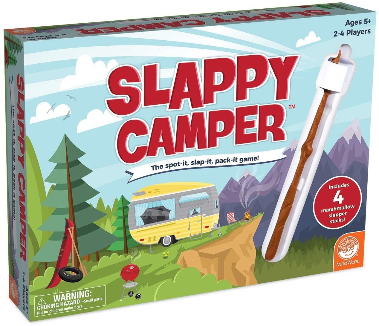Mindware / MW Wholesale / Peaceable Kingdom Game/ Slappy Camper