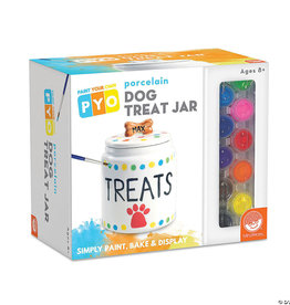Mindware / MW Wholesale / Peaceable Kingdom Paint Your Own Dog Treat Jar