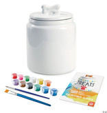 Mindware / MW Wholesale / Peaceable Kingdom Paint Your Own Dog Treat Jar