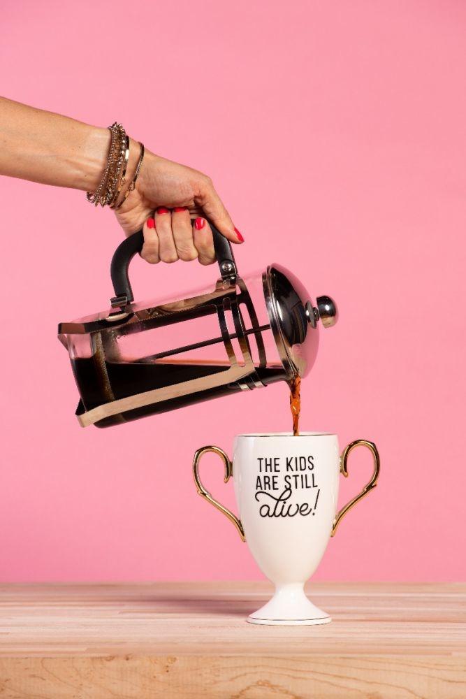Totalee Gift Mug/ Still Alive! Trophy