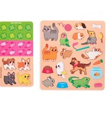 Ooly Play Again Sticker Fun / Pet Play Land