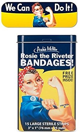 Accoutrements Bandages/ Rosie the Riveter