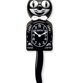 California Clock Company Classic Black Kit-Cat Clock (15.5″ high)