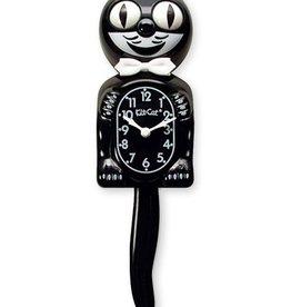 California Clock Company Classic Black Kit-Cat Clock (15.5″ high)