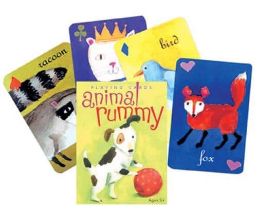 eeBoo Playing Cards/ Animal Rummy
