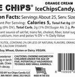 Ice Chips Candy LLC Ice Chips Xylitol Candy/ Orange Cream