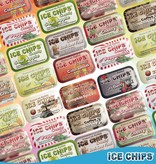 Ice Chips Candy LLC Ice Chips Xylitol Candy/ Candy Cane
