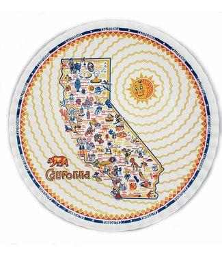 One Hundred 80 Degrees Melamine Plate Halloween