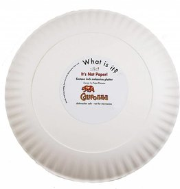 "One Hundred 80 Degrees Melamine 16"" Platter/ California"