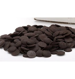 Cacao Noel Noel - Brune Pate a Glacer, dark chocolate buttons - 1 lb, NOE656-R